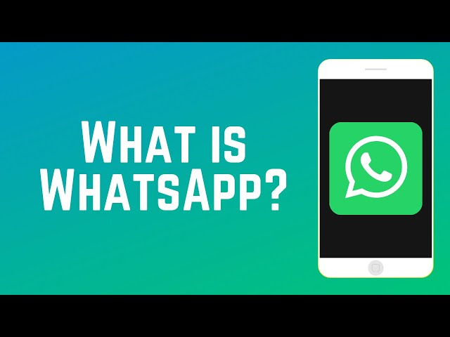 What Is Whatsapp How Does It Work Guide Part 1