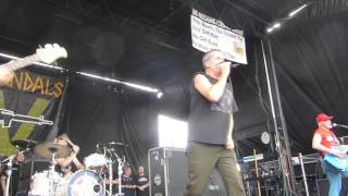 The Vandals - Live Fast, Diarrhea - Warped Tour 2016 - Phoenix, AZ - 8.4.16