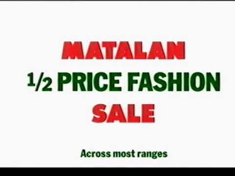 Matalan Christmas Advert UK 2002