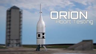 Ascent Abort-2: teste da cápsula espacial Orion
