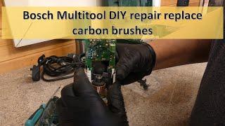 Bosch Multi Tool PMF 190e Repair /Carbon Brush Replacement