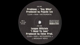 Problemz - Say What [HD]