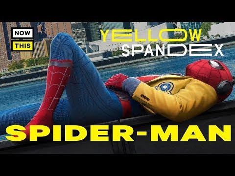 The Evolution of Spider-Man's Costume | Yellow Spandex #1 | NowThis Nerd