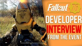 Fallout 76 Developer Interview - Companions, 70,000 items, FPS Concerns, Player Radio Stations?