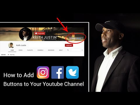 Add Social Buttons to Your Youtube Channel