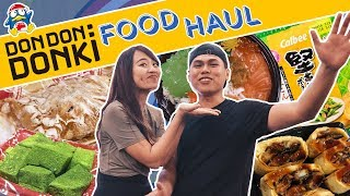 MASSIVE DON DON DONKI FOOD HAUL! | Eatbook Vlogs | EP 111