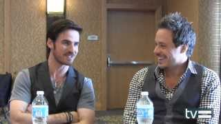 Once Upon A Time Season 3: Colin ODonoghue And Michael Raymond-James Interview