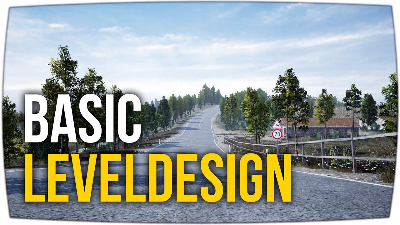 Terrain & Leveldesign - simple Tipps für Anfänger ► Unreal Engine Tutorial (German)