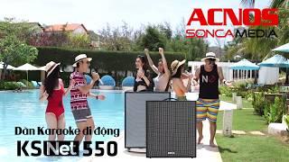 Dàn Âm Thanh Di Động ACNOS CS550