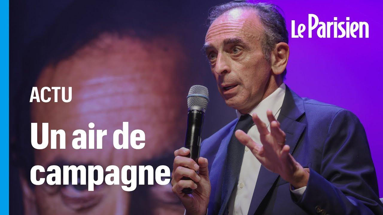 Présidentielle 2022 : à Toulon, Zemmour entretient le mystère sur sa candidature