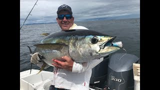Double Header Tuna on Poppers