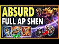 THIS BUILD MAKES AP SHEN VIABLE BIG ULT Season 9 Shen Mid Gameplay Unranked to Challenger EP 13