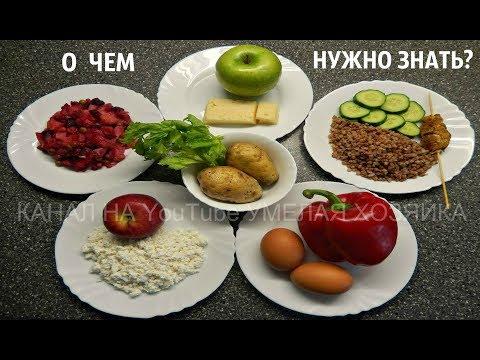 Питание для похудения в животе