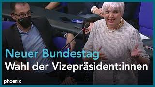 Neues Parlament: Wahl der Bundestagsvizepräsident:innen am 26.10.21