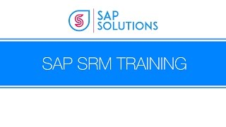 SAP SRM Demo By SAPSOLUTIONS