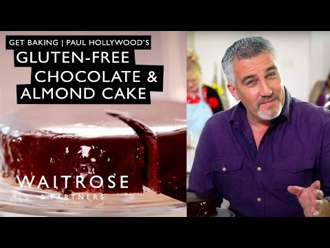 Video Get Baking with Paul Hollywood | Gluten-free Chocolate and Almond Cake | Waitrose