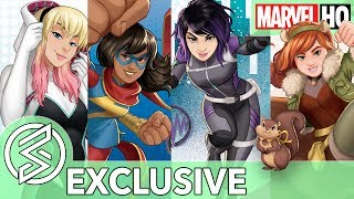 MARVEL RISING BEGINS! | The Next Generation Of Marvel Heroes (EXCLUSIVE)