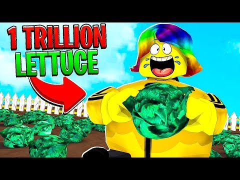 I ATE 250,000,000,000,000 POUNDS OF LETTUCE.. (Roblox)