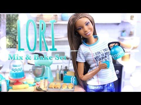 Unbox Daily: LORI Mix & Bake Set - Dollhouse Kitchen Accessories Review - 4K