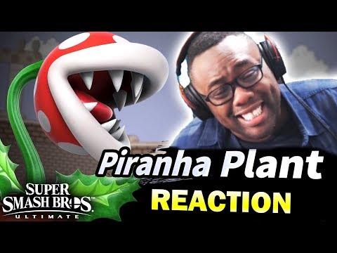 PIRANHA PLANT?? Super Smash Bros Ultimate Direct REACTION (видео)