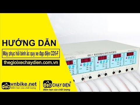 Giới thiệu máy phục hồi bình ắc quy xe điện CD5-F