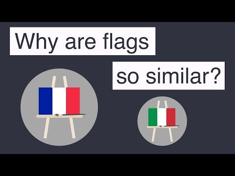 Proč jsou si vlajky tak podobné?