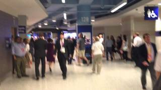 CODEPINK Protesters Interrupt RNC (Raw Video) thumbnail