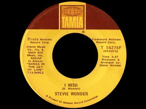 Stevie Wonder ~ I Wish 1976 Funky Purrfection Version Mp3
