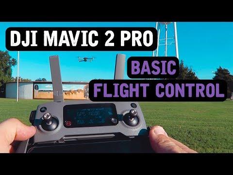 DJI Mavic 2 Pro / Basic Flight Control (Tutorial)