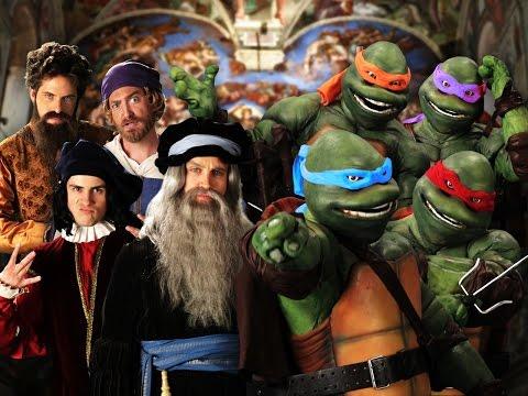 Umělci vs Želvy ninja