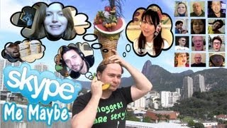 Skype Me Maybe - sung in 30+ languages by 17 polyglots!