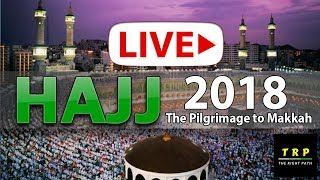 """Support the stream: https://streamlabs.com/therightpathtrp   #MeenaLive, #LiveHajj from Meena, #ArafatLive Live from Arfat,Meena & Makkah Hajj 018 The text of the talbiyah is: Labbayka Allāhumma Labbayk. Labbayk Lā Sharīka Laka Labbayk. Inna l-Ḥamda, Wa n-Niʻmata, Laka wal Mulk, Lā Sharīka Lak. In Arabic: لَبَّيْكَ اللَّهُمَّ لَبَّيْكَ، لَبَّيْكَ لاَ شَرِيْكَ لَكَ لَبَّيْكَ، إِنَّ الْحَمْدَ وَالنِّعْمَةَ لَكَ وَالْمُلْكَ لاَشَرِيْكَ لَكَ IPA transcription:  [læbˈbæjk ɑɫɫɑːˈhʊmmæ læbˈbæjk læbbˈæjkæ læː ʃæˈriːkæ ˈlækæ læbˈbæjk ˈʔɪnnæ lˈħæmdæ wænˈnɪʕˈmætæ ˈlækæ wæ lˈmʊlk læː ʃæˈriːkæ læk] translated as:  """"Here I am at Thy service O Lord, here I am. Here I am at Thy service and Thou hast no partners. Thine alone is All Praise and All Bounty, and Thine alone is The Sovereignty. Thou hast no partners."""" The Shia version of the talbiyah is exactly the same as the Sunni one but ends with an extra """"Labbaik.""""  There is disagreement among grammarians of Arabic as to the origin of the expression labbayka. The most prevalent explanation analyses it as the verbal noun (maṣdar) labb (meaning to remain in a place) + ay (oblique form of the dual in construct) + ka (first-person singular masculine suffix). The dual is said to indicate repetition and frequency. Therefore, labbayka means literally something like """"I will stick to obeying you again and again."""" Talbiyah is the verbal noun of labbá, meaning to pronounce this prayer.  #Hajj 2018 will commence on Sunday, 19th of August 2018 and will continue till Friday, 24th of August 2018. This is the tentative date as the actual date is contingent on the sighting of the moon of Dhul Hijjah.  According to the Islamic Calendar, Muslim Pilgrimage begins on the 8th day of Dhul-Hijjah and ends on the thirteenth day of the same Islamic month. There are many rituals in the performance of Hajj and these may be completed over the course of the 5 days. Every year, millions Muslims participate in this holy pilgrimage to the city of Mecca, Saudi Arabi"""