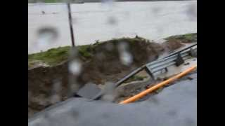 preview picture of video 'Alluvione ad Acquapendente - VIDEO RICOGNIZIONE PONTE GREGORIANO'