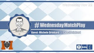 #WednesdayMatchPlay with Michele Drinkard from Mercer Women's Golf