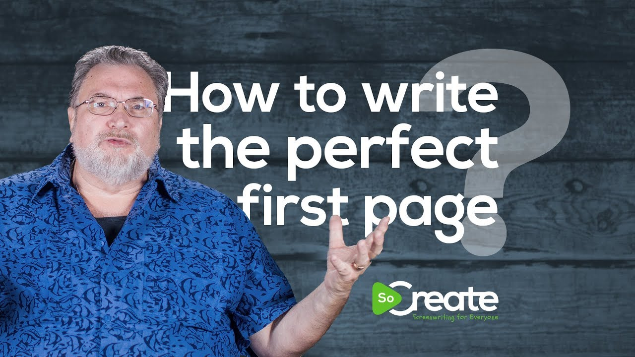 Writer Jonathan Maberry Tells You How to Write the Perfect First Page