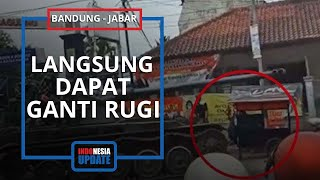 TNI Tanggungjawab Penuh Insiden Tank Tabrak Motor dan Gerobak Jualan, Korban Sudah Dapat Ganti Rugi