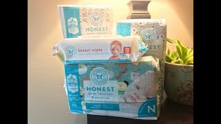 The Honest Company Diapers & Wipes Bundle Unboxing | Do You Have It In Black?