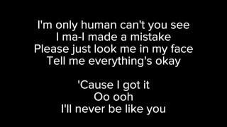 """Video thumbnail of """"[LYRICS] Flume ft. Kai – Never Be Like You"""""""