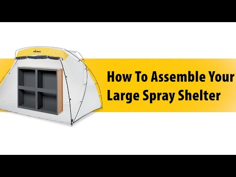 Wagner Large Spray Shelter : How to Fold Video