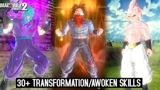 30+ Transformation/awoken Skill for CAC! Official & Modded Version | Dragon Ball Xenoverse 2