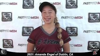 2021 Amanda Engel Catcher, Second Base and Outfield Softball Skills Video - Extreme Fastpitch