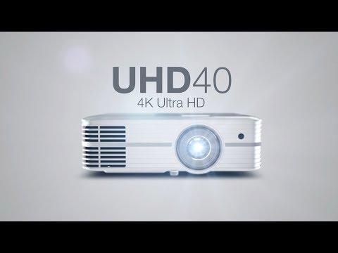 Optoma UHD40 (4K, 2400lm, UHP, 25dB)