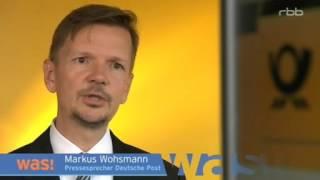 TV Doku: Der E-Postbrief Der Post - Keine Erfolgsgeschichte - Rbb WAS!