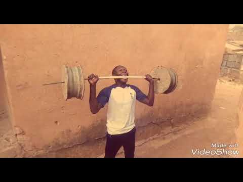Amazing Weightlifting With Teeth