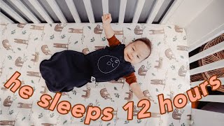 HOW TO GET YOUR BABY TO SLEEP THROUGH THE NIGHT BY 3 MONTHS