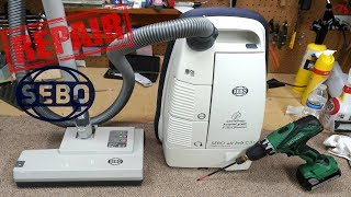 The Forgotten German SEBO Airbelt  C3.1  Canister Vacuum Cleaner Repair