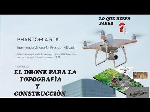 dji-phantom-4-rtk-drone-para-topografìa--y-construcciòn-en-español