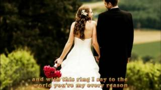 Westlife-Beautiful in White  (lyrics)