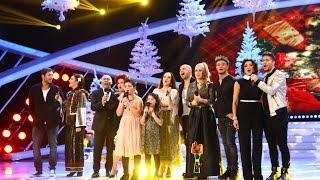 """Cristina și Camelia cântă melodia """"Vis de iarnă"""", alături de artiști din showbizul românesc"""