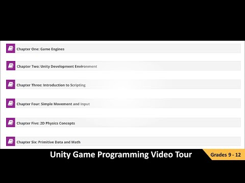 Exploring the Unity Game Programming Online Course - YouTube